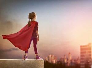 Diversity - financial services - superhero girl - Fram Search