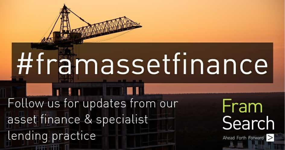 Fram Search - LinkedIn hashtags - asset finance