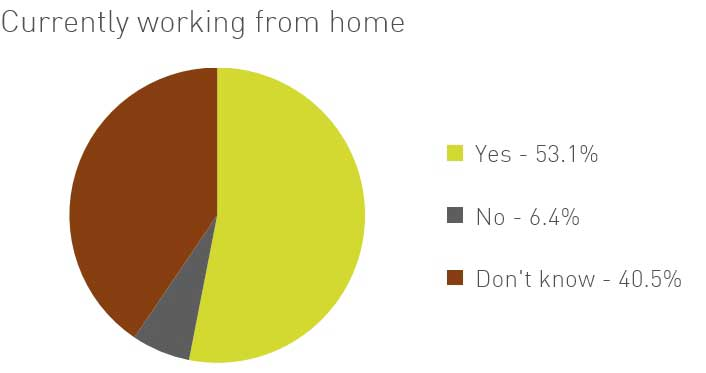 Working from home survey - Fram Search June 20
