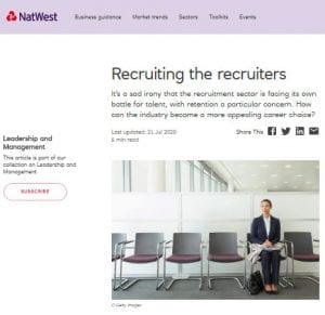 NatWest - Fram Search - July 2020