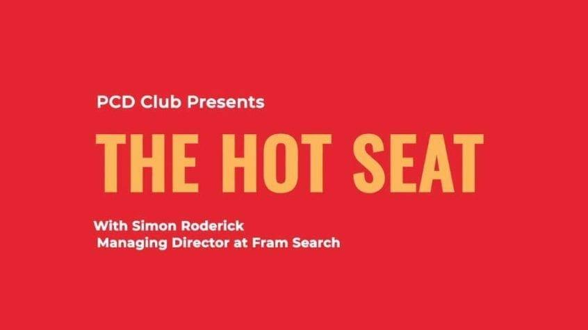 PCD Club - David Bell - Simon Roderick - Fram Search